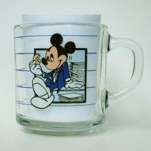 """他の写真1: アンカーホッキング ディズニー ミッキー・マウス グラス・マグ """"ブレーク・タイム"""""""